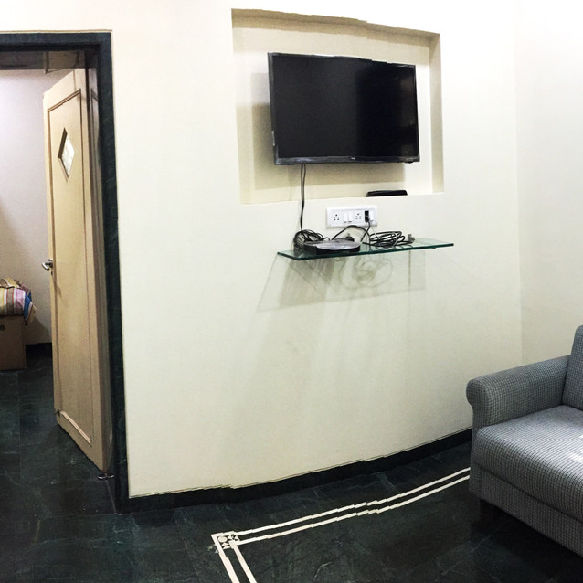 Living Area with 40Inch TV