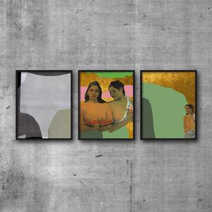 Collages & Gauguin