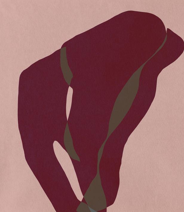 Lola Mathe-digital artwork-collage-danse