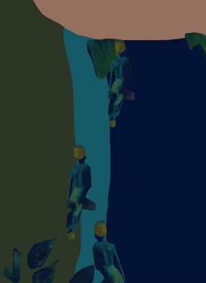 Gauguin-collages-peinture-Lola-Mathe-2 2