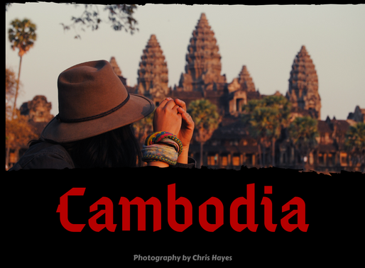 Riding the length and breadth of Cambodia.
