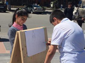 Art Class in the City Center
