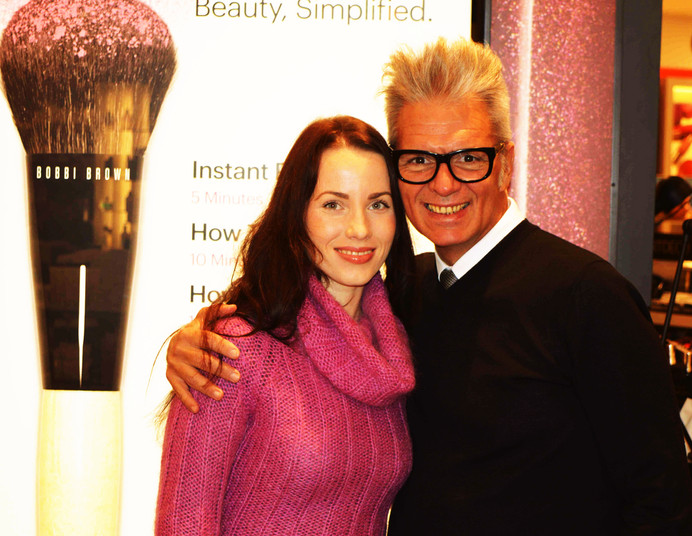 Eduardo Ferreira ir Bobbi Brown|Bobbi Brown Make-Up Standards
