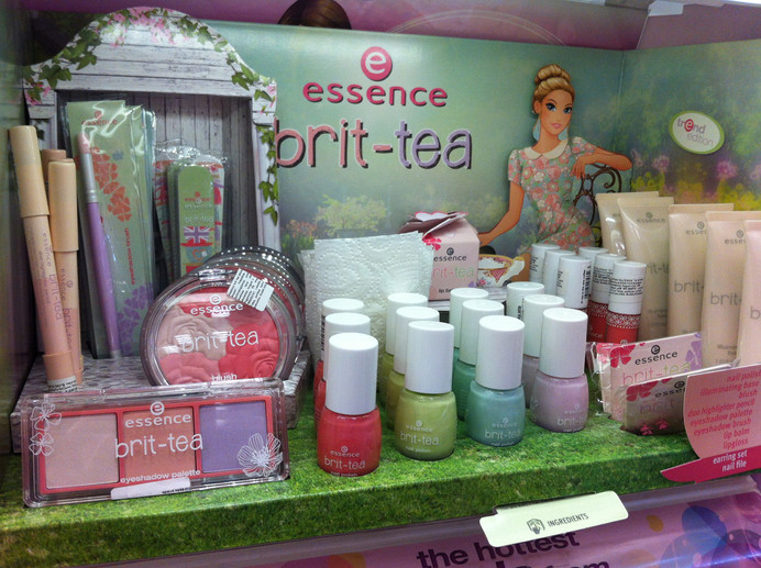 Look At Essence Brit-Tea collection!