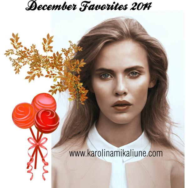 Gruodžio mėgstamiausi/ December Favorites 2014