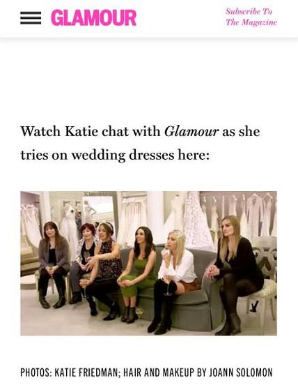 Katie Schroder Vanderpump/ Glamour Mag
