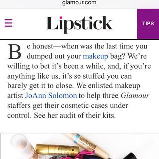 Glamour Magazine July 2015.