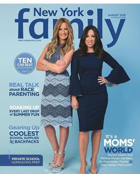 Cover-  New York Family Magazine