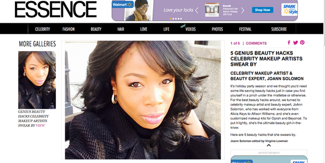 Essence Magazine Holiday Hacks