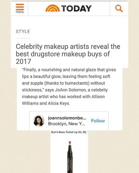 Today. Com  2017 Celebrity Makeup Artist