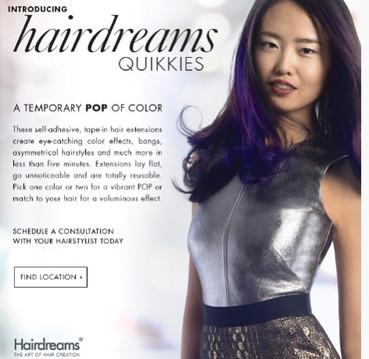 Hair Dreams Quikkies National Campaign