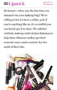 Glamour Magazine Lipstick Online