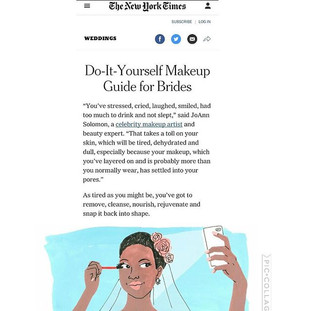 NY Times Beauty Expert Feature