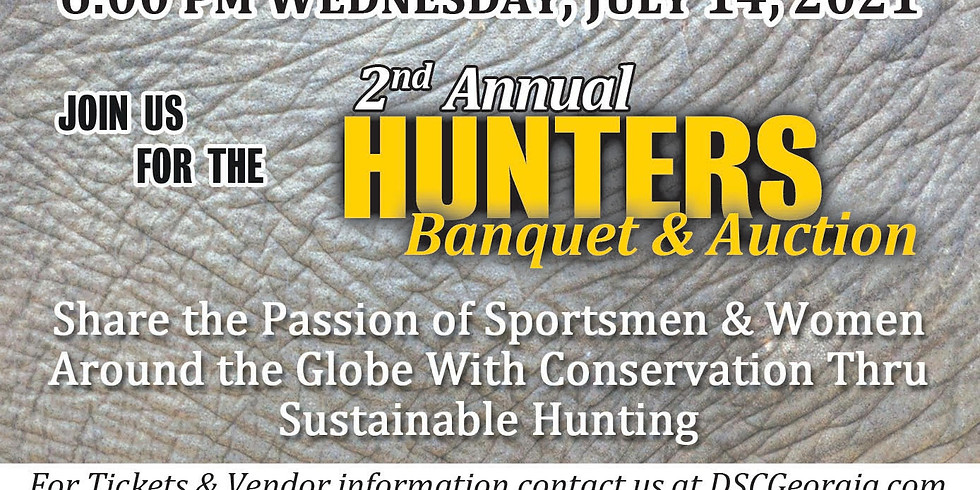 2021 2nd Annual Hunters Banquet & Auction