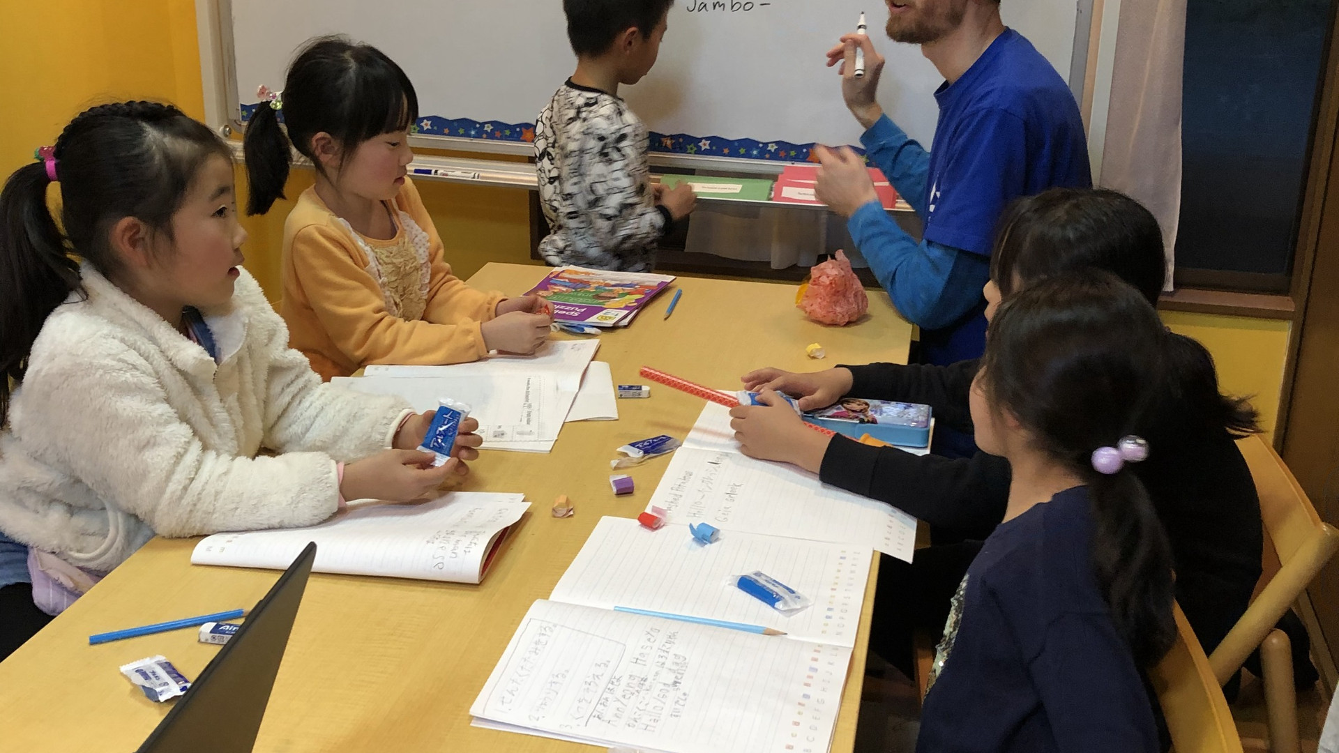 Afterschool Class -Topic discussion-