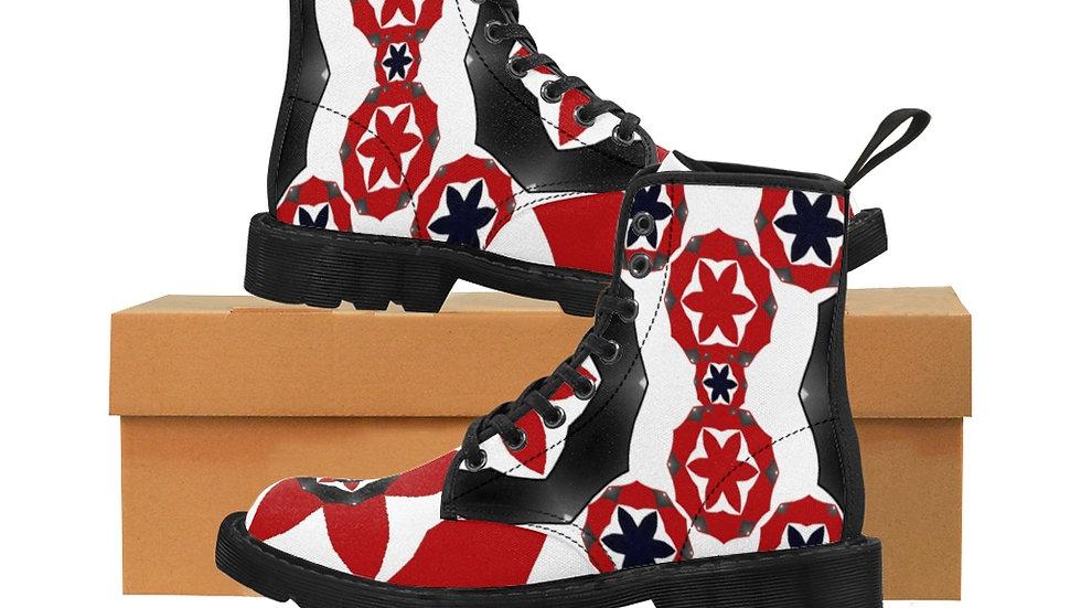 """Srti St """"Trap"""" Men's Canvas Boots"""