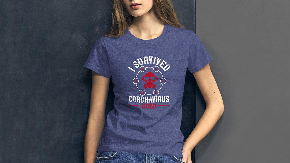 Coronavirus Survivor 2020 Women's short sleeve t-shirt