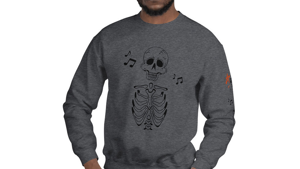 "Arti St ""Music in My Bones"" Unisex Sweatshirt"