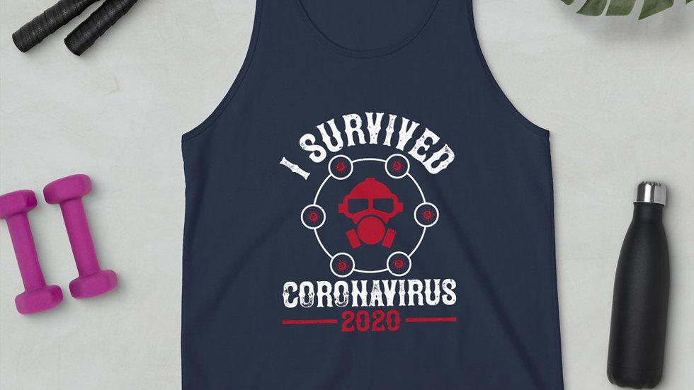 Coronavirus Survivor 2020 Unisex Tank Top