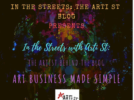 In the Streets with Arti St: The Artist Behind the Blog