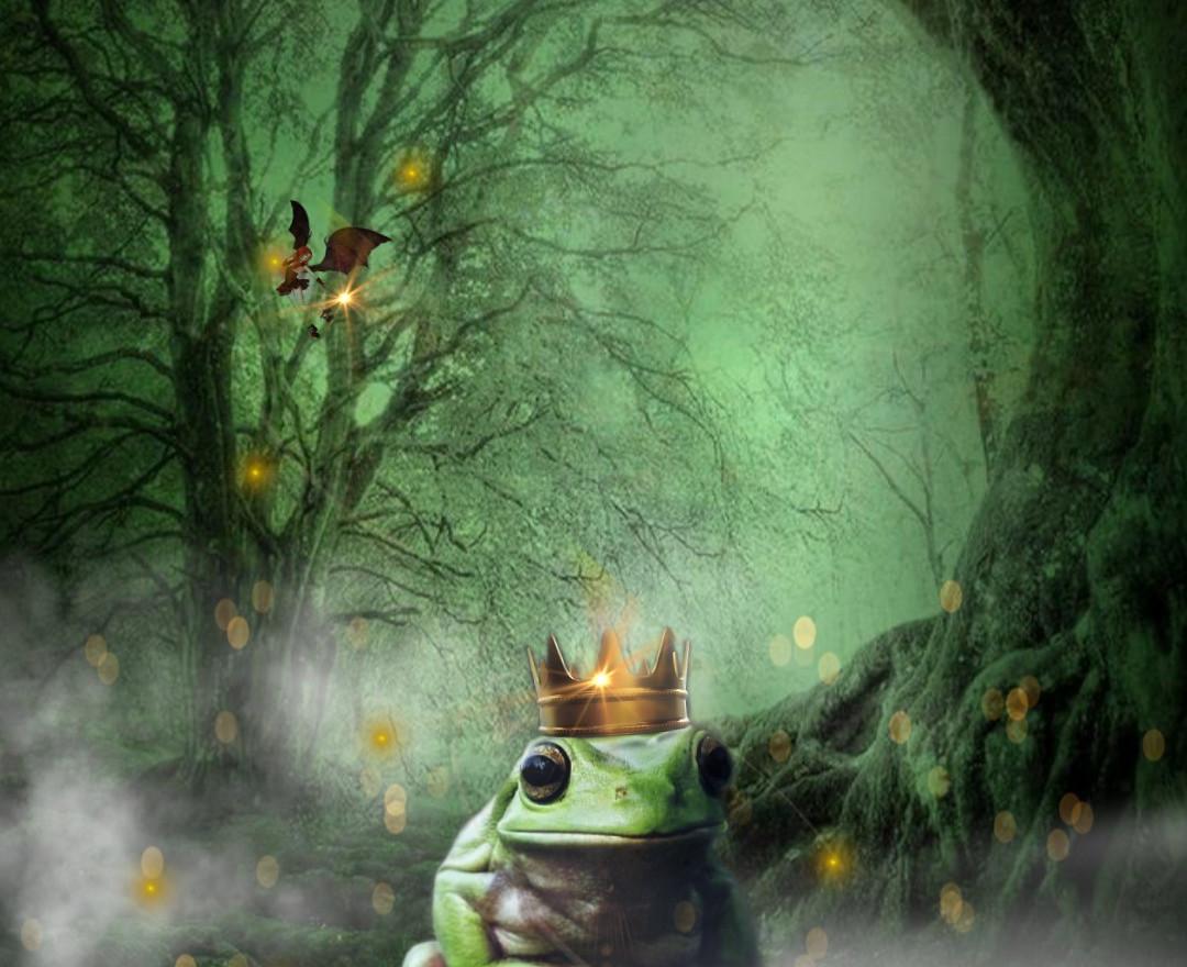 Inktober- Frog Prince October 1sr