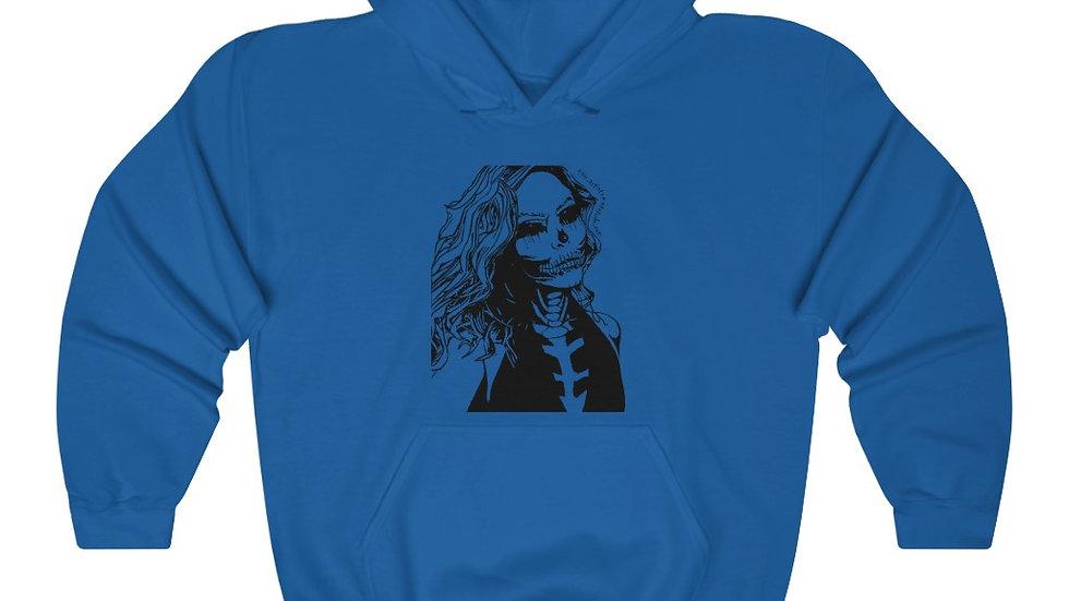"""Arti St """"Dead Glam"""" Unisex Heavy Blend™ Hooded Sweatshirt"""