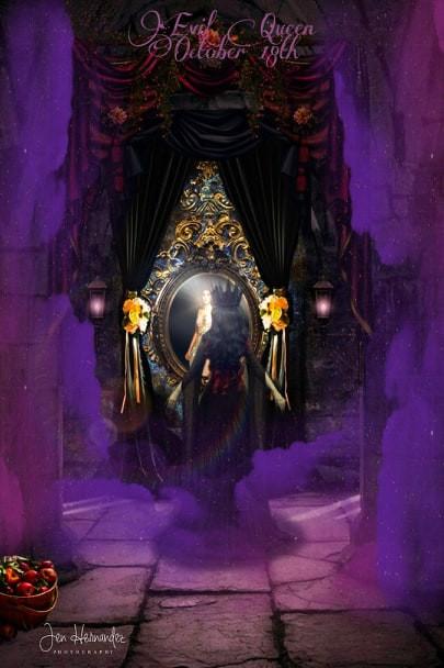 Inktober- Evil Queen (Snow White)