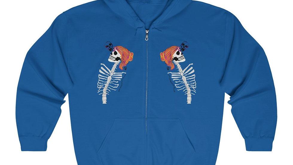 """Arti St """"Romance is Dead"""" Unisex Heavy Blend™ Full Zip Hooded Sweatshirt"""