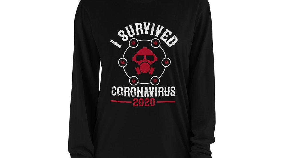 Coronavirus Survivor 2020 Long sleeve t-shirt