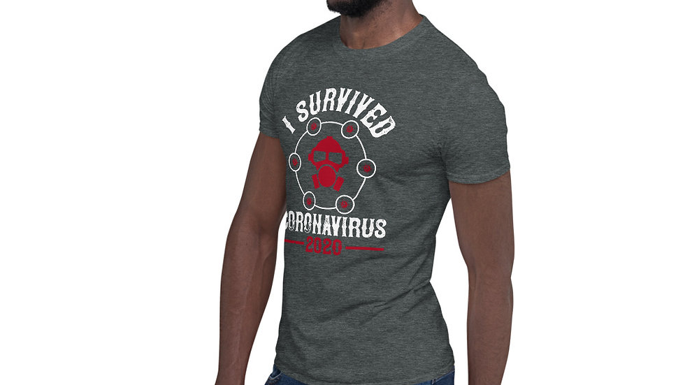 Coronavirus Survivor 2020 Short-Sleeve Unisex T-Shirt