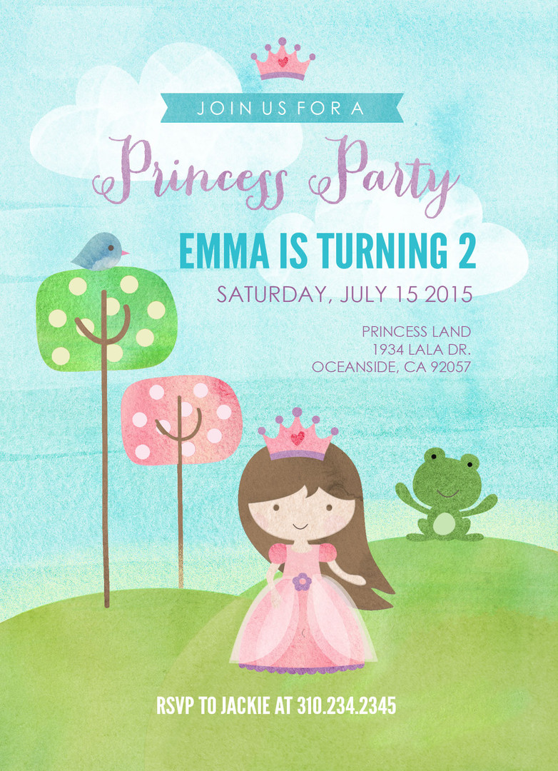 Child Party Invitation