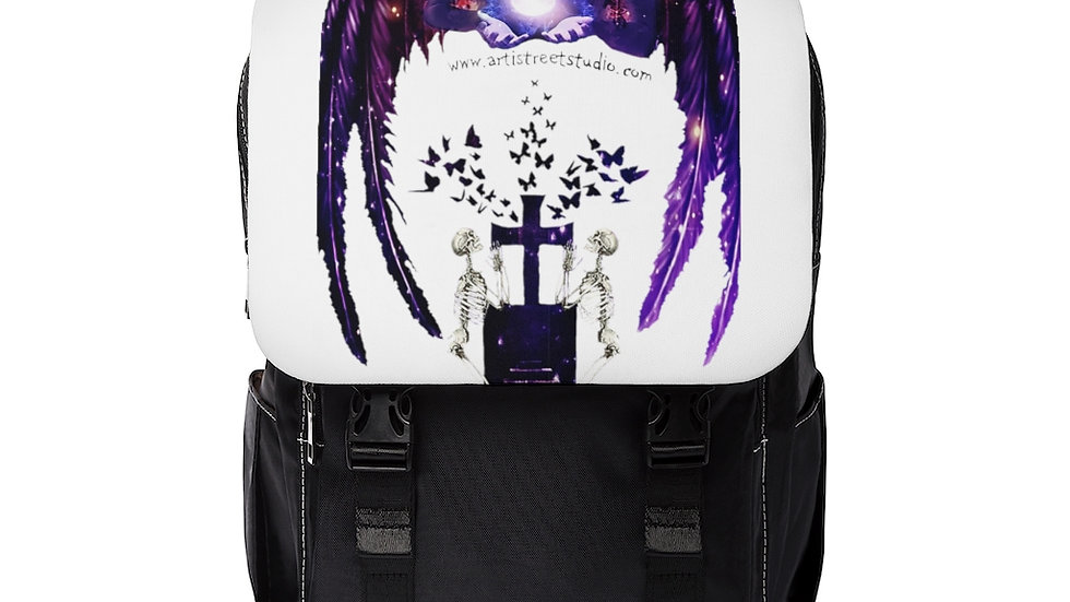 """Arti St """"Divine Intervention"""" Casual Shoulder Backpack"""