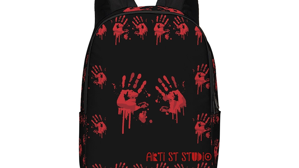 Blood on My Hands Large Backpack