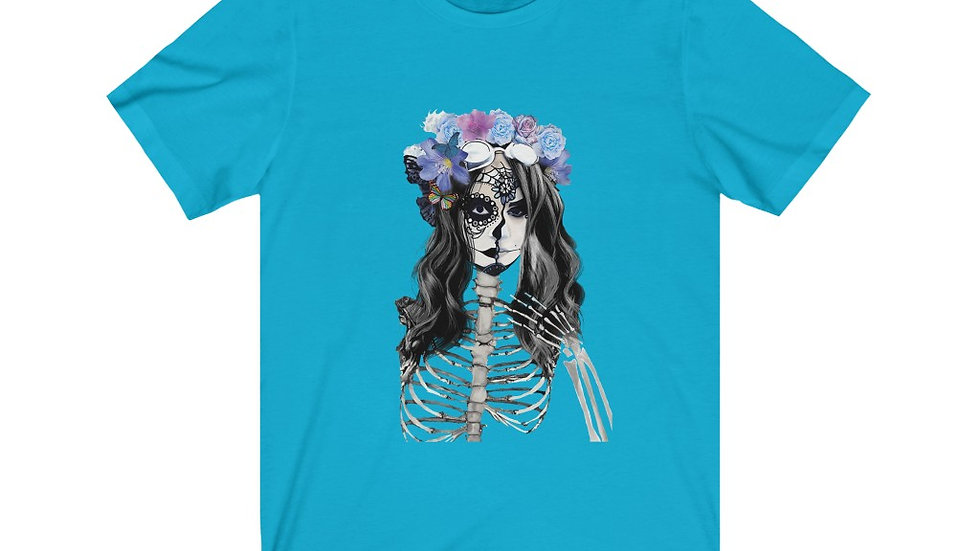 "Arti St ""Decomposing Lily"" Unisex Jersey Short Sleeve Tee"