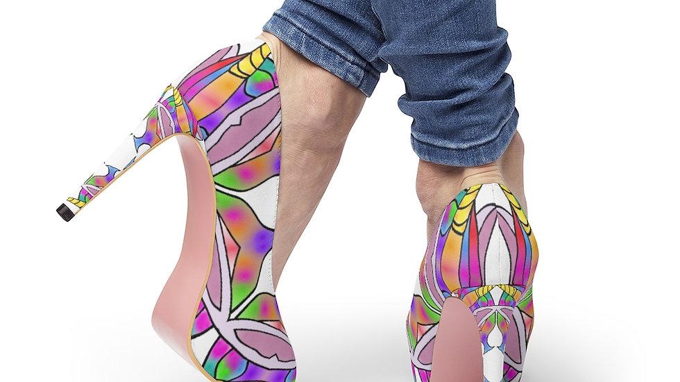"""Arti St """"Unicorn Princess"""" Women's Platform Heels"""
