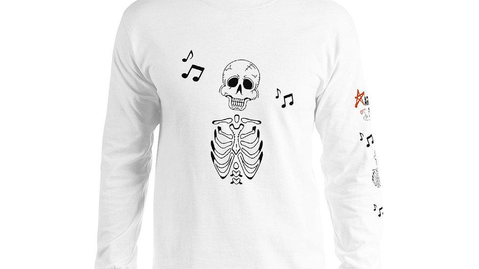 "Arti St ""Music in My Bones"" Men's Long Sleeve Shirt"