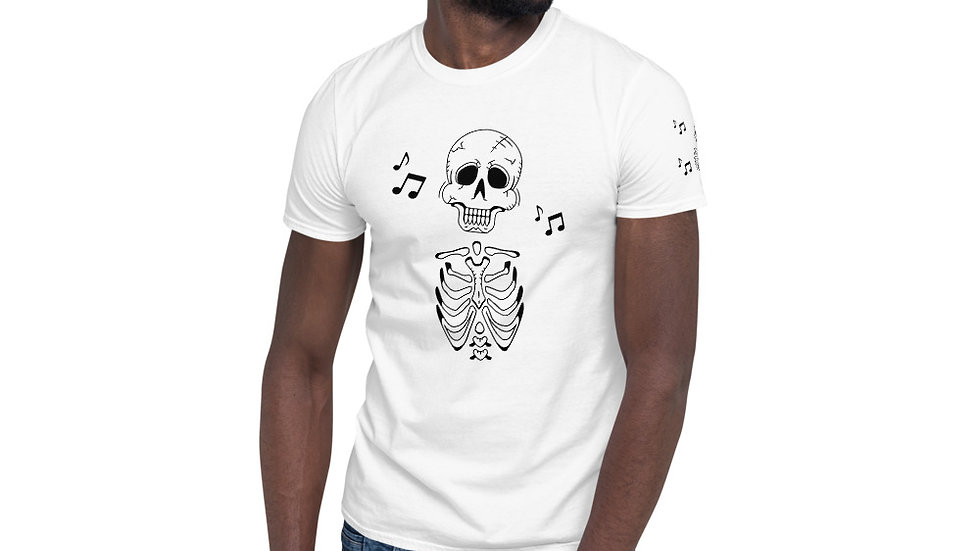 "Arti St ""Music in My Bones"" Short-Sleeve Unisex T-Shirt"