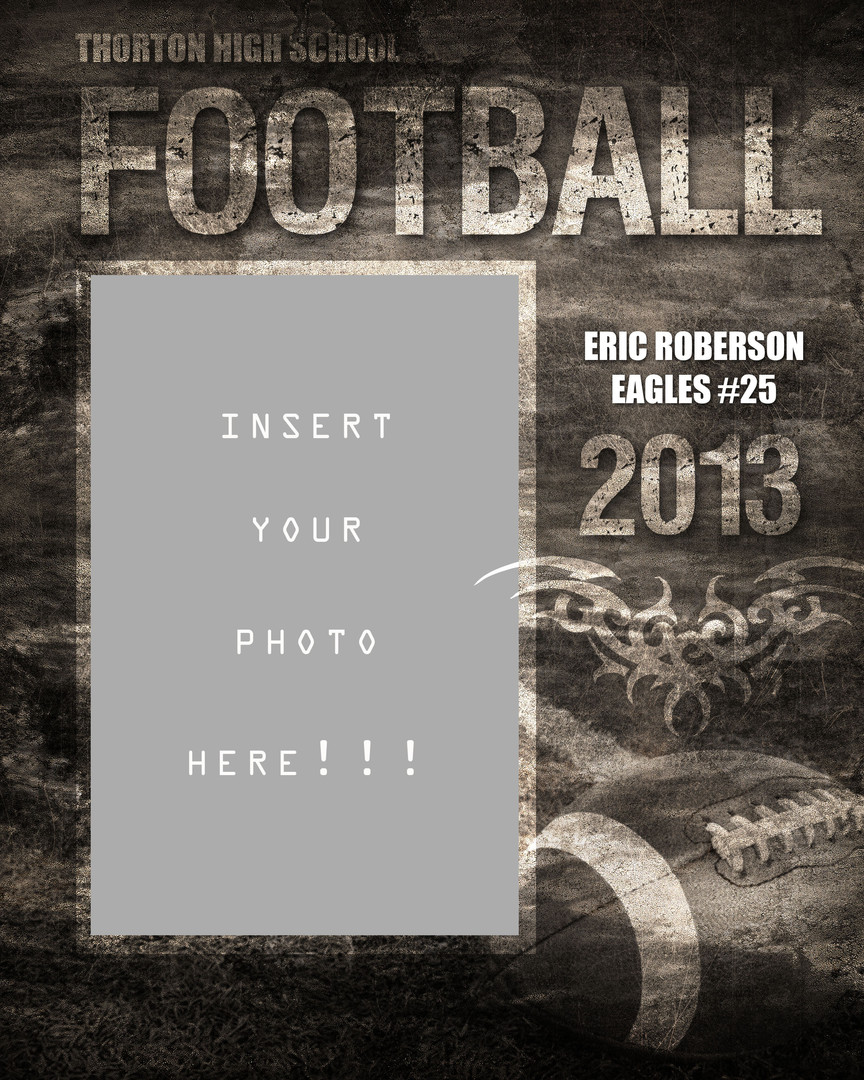 Football Photo Announcement