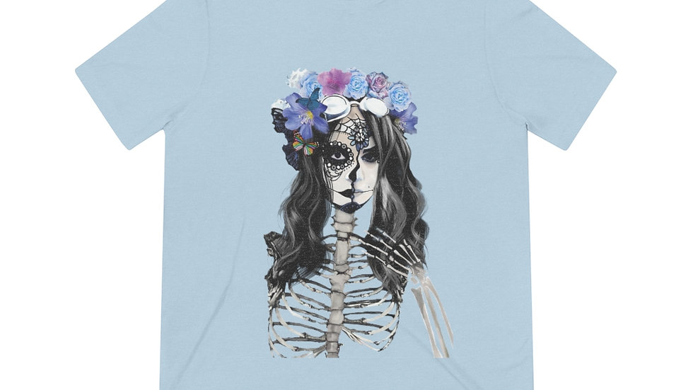 "Arti St ""Decomposing Lily"" Unisex Triblend Tee"