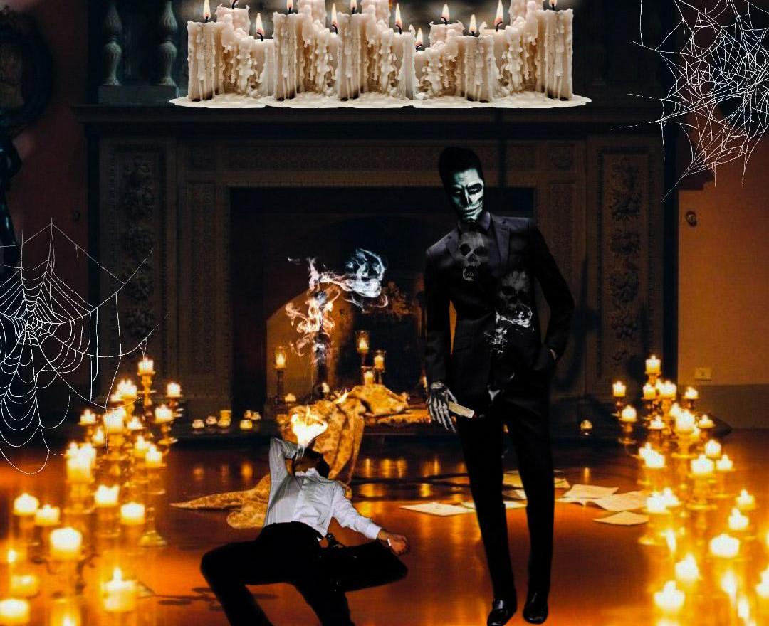 Inktober- Godfather Death