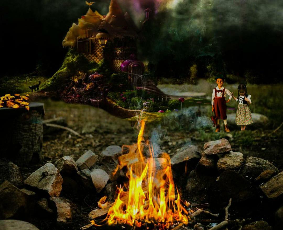 Inktober- Hansel and Gretel