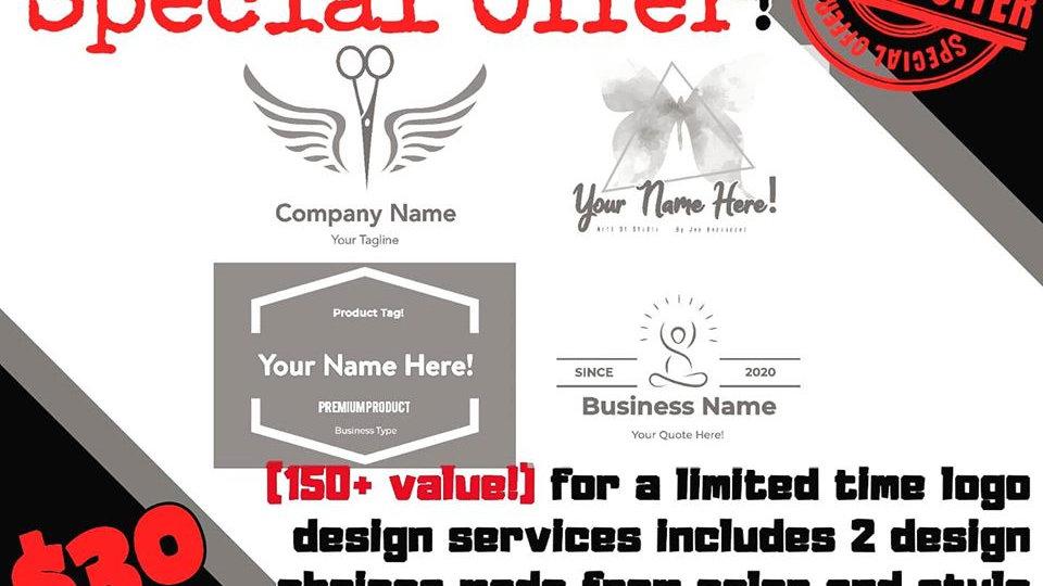 Logo Design ONLY $30