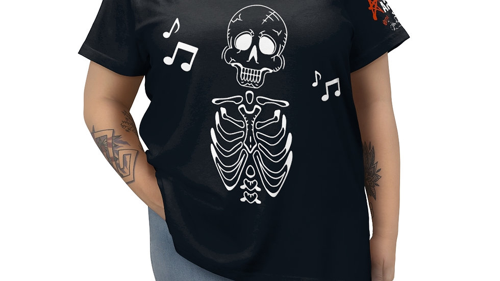 "Arti St ""Music in My Bones"" Women's Curvy Tee"