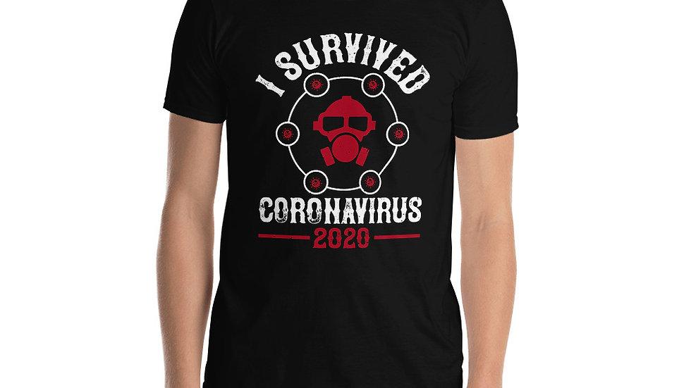 Coronavirus Survivor Short-Sleeve Unisex T-Shirt