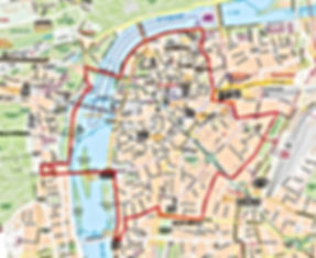 Prague Scooter Tours and Rent Map