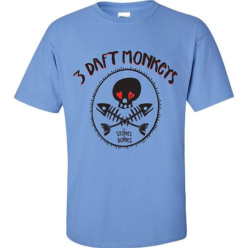 Of Stones & Bones T-Shirt (Carolina Blue)