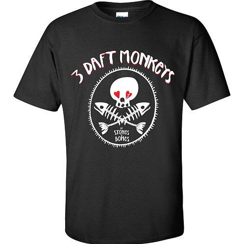 Of Stones & Bones T-Shirt (Child/Black)