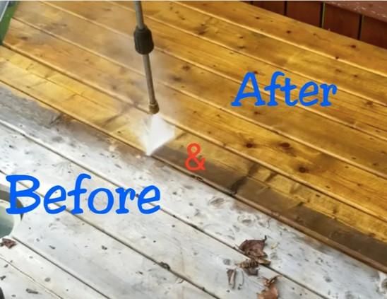 Pressure Washing Hardwood Floors