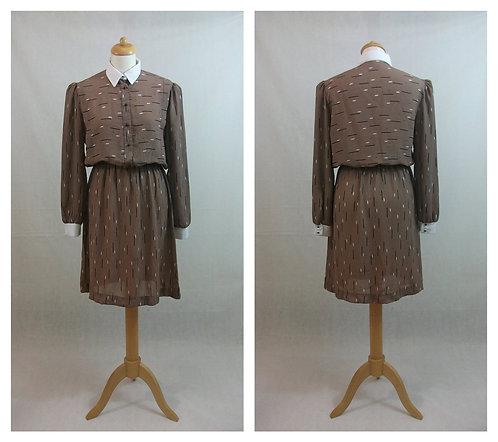 Robe chemise 70s