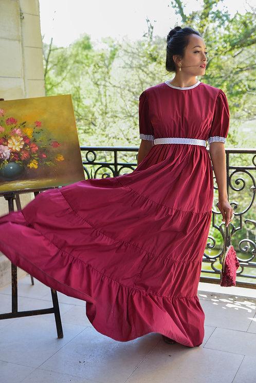 RED DARK Anabelle Dress